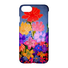 Spring Pastels Apple Iphone 7 Hardshell Case by dawnsiegler