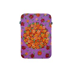 Floral Sphere Apple Ipad Mini Protective Soft Cases by dawnsiegler