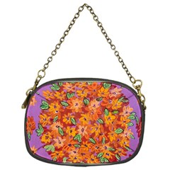 Floral Sphere Chain Purses (one Side)  by dawnsiegler
