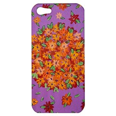 Floral Sphere Apple Iphone 5 Hardshell Case