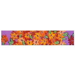 Floral Sphere Flano Scarf (small) by dawnsiegler