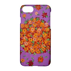 Floral Sphere Apple Iphone 7 Hardshell Case by dawnsiegler