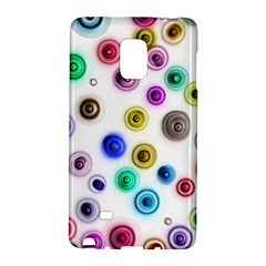 Colorful Concentric Circles        Samsung Galaxy Note 4 Leather Folio by LalyLauraFLM