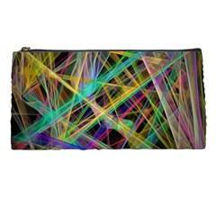 Colorful Laser Lights       Pencil Case by LalyLauraFLM