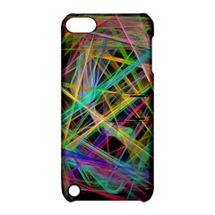 Colorful Laser Lights       Apple Iphone 5 Hardshell Case With Stand by LalyLauraFLM