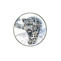 Snow Leopard 1 Hat Clip Ball Marker (10 Pack)