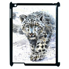 Snow Leopard 1 Apple Ipad 2 Case (black) by kostart