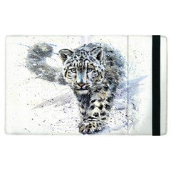Snow Leopard 1 Apple Ipad 3/4 Flip Case by kostart