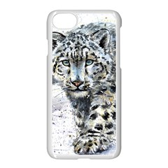 Snow Leopard 1 Apple Iphone 7 Seamless Case (white) by kostart