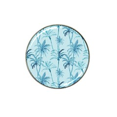 Watercolor Palms Pattern  Hat Clip Ball Marker by TastefulDesigns