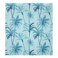 Watercolor Palms Pattern  Shower Curtain 66  X 72  (large)  by TastefulDesigns