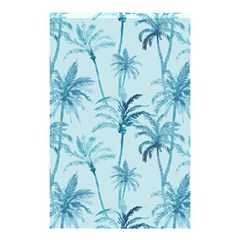 Watercolor Palms Pattern  Shower Curtain 48  X 72  (small)  by TastefulDesigns