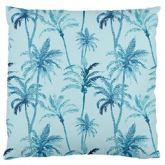 Watercolor Palms Pattern  Large Cushion Case (one Side)