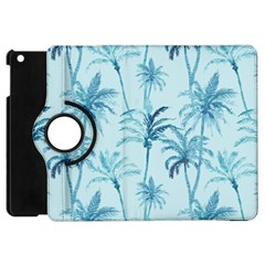 Watercolor Palms Pattern  Apple Ipad Mini Flip 360 Case by TastefulDesigns