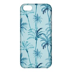 Watercolor Palms Pattern  Apple Iphone 5c Hardshell Case by TastefulDesigns