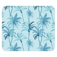 Watercolor Palms Pattern  Double Sided Flano Blanket (small)  by TastefulDesigns