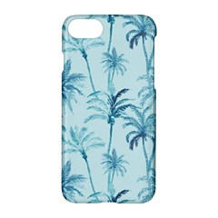 Watercolor Palms Pattern  Apple Iphone 7 Hardshell Case by TastefulDesigns