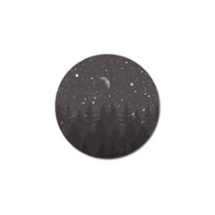Night Full Star Golf Ball Marker (4 Pack) by berwies
