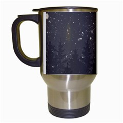 Night Full Star Travel Mugs (white) by berwies