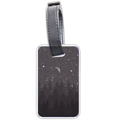 Night Full Star Luggage Tags (one Side)  by berwies