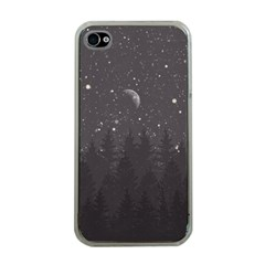 Night Full Star Apple Iphone 4 Case (clear) by berwies