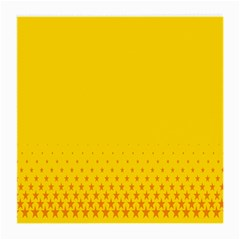 Yellow Star Light Space Medium Glasses Cloth (2 Side) by Mariart