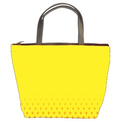 Yellow Star Light Space Bucket Bags by Mariart