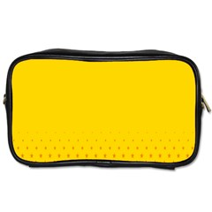 Yellow Star Light Space Toiletries Bags
