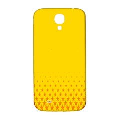 Yellow Star Light Space Samsung Galaxy S4 I9500/i9505  Hardshell Back Case