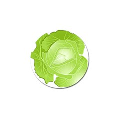Cabbage Leaf Vegetable Green Golf Ball Marker (10 Pack) by Mariart