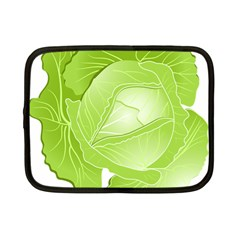 Cabbage Leaf Vegetable Green Netbook Case (small)  by Mariart
