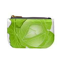 Cabbage Leaf Vegetable Green Mini Coin Purses