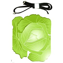 Cabbage Leaf Vegetable Green Shoulder Sling Bags by Mariart