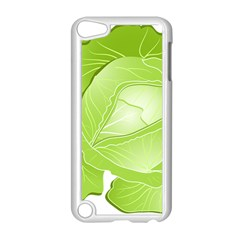 Cabbage Leaf Vegetable Green Apple Ipod Touch 5 Case (white) by Mariart