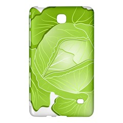 Cabbage Leaf Vegetable Green Samsung Galaxy Tab 4 (8 ) Hardshell Case  by Mariart