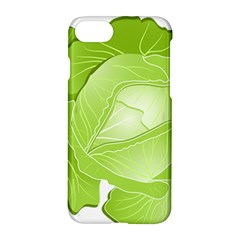 Cabbage Leaf Vegetable Green Apple Iphone 7 Hardshell Case by Mariart