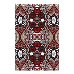 Batik Fabric Shower Curtain 48  X 72  (small)  by Mariart