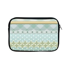 Circle Polka Plaid Triangle Gold Blue Flower Floral Star Apple Ipad Mini Zipper Cases by Mariart