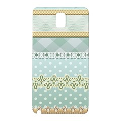 Circle Polka Plaid Triangle Gold Blue Flower Floral Star Samsung Galaxy Note 3 N9005 Hardshell Back Case by Mariart