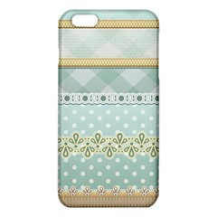 Circle Polka Plaid Triangle Gold Blue Flower Floral Star Iphone 6 Plus/6s Plus Tpu Case by Mariart
