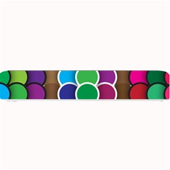 Circle Round Yellow Green Blue Purple Brown Orange Pink Small Bar Mats by Mariart