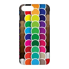 Circle Round Yellow Green Blue Purple Brown Orange Pink Apple Iphone 7 Plus Hardshell Case by Mariart