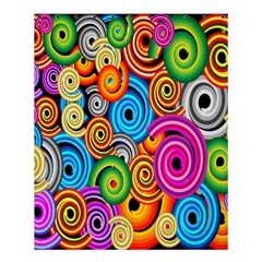 Circle Round Hole Rainbow Shower Curtain 60  X 72  (medium)  by Mariart