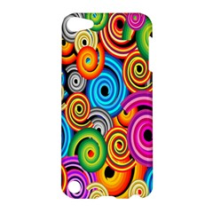 Circle Round Hole Rainbow Apple Ipod Touch 5 Hardshell Case by Mariart