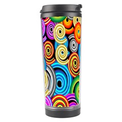 Circle Round Hole Rainbow Travel Tumbler by Mariart