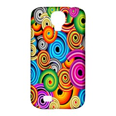 Circle Round Hole Rainbow Samsung Galaxy S4 Classic Hardshell Case (pc+silicone) by Mariart