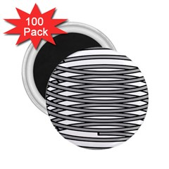 Circular Iron 2 25  Magnets (100 Pack)  by Mariart
