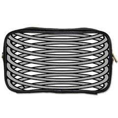 Circular Iron Toiletries Bags 2 Side by Mariart