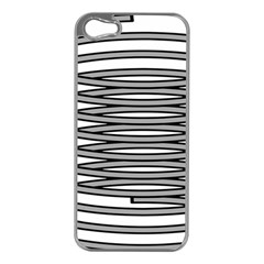 Circular Iron Apple Iphone 5 Case (silver) by Mariart