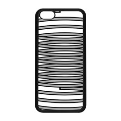 Circular Iron Apple Iphone 5c Seamless Case (black) by Mariart